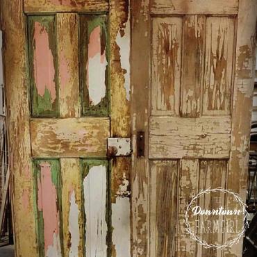 Doors found in the shop